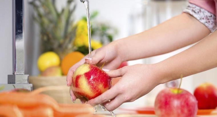 Laver ses aliments pour supprimer le risque de diarrhée