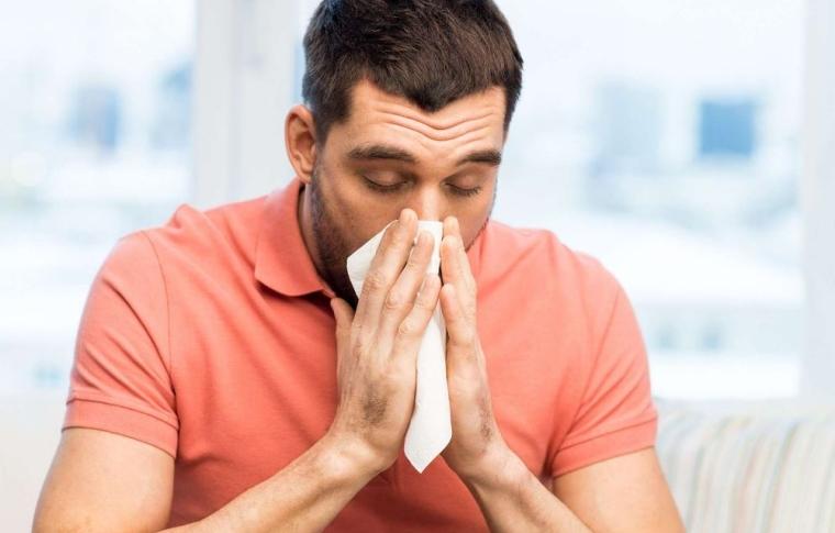 symptôme de l'allergie au pollen