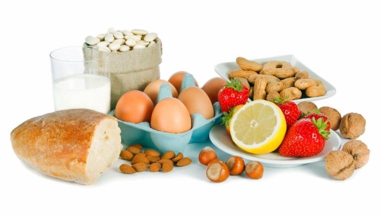 Allergènes alimentaires pouvant causer un eczéma