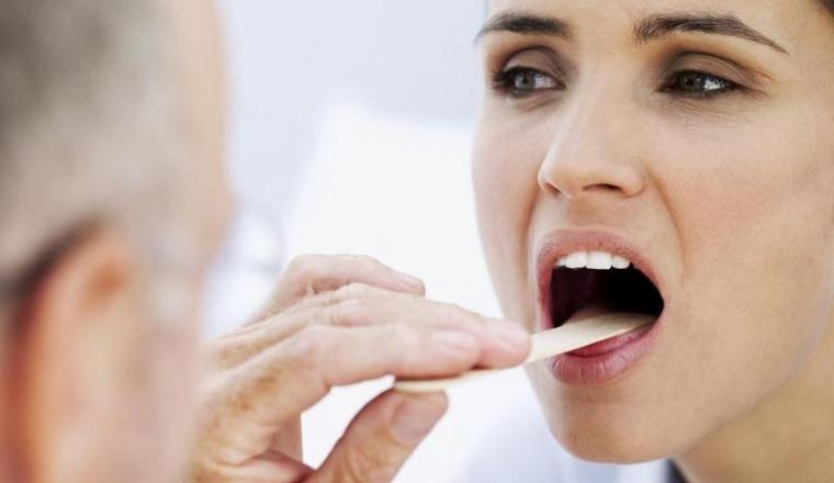 Symptôme des infections buccales
