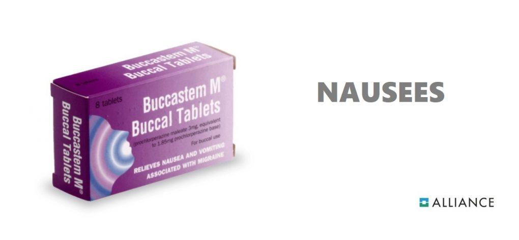 Traitement Buccastem M contre les nausées