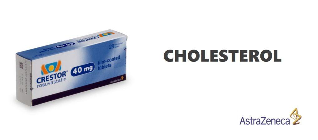 Traitement Crestor contre l'excès de cholestérol
